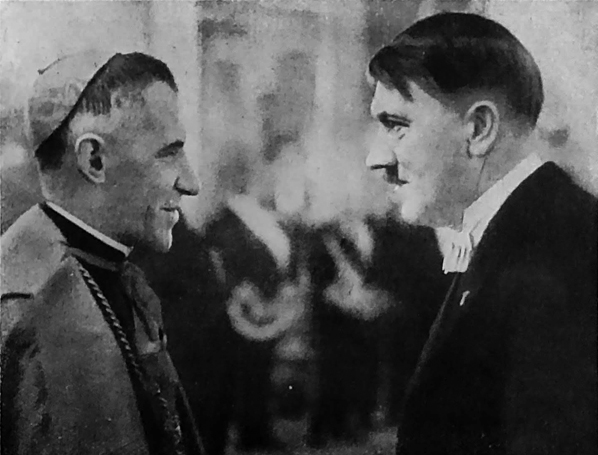 Adolf Hitler in conversation with the Apostolic Nuncio to Germany,
