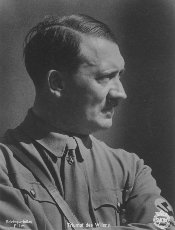 Adolf Hitler at the 1934 Reichsparteitag