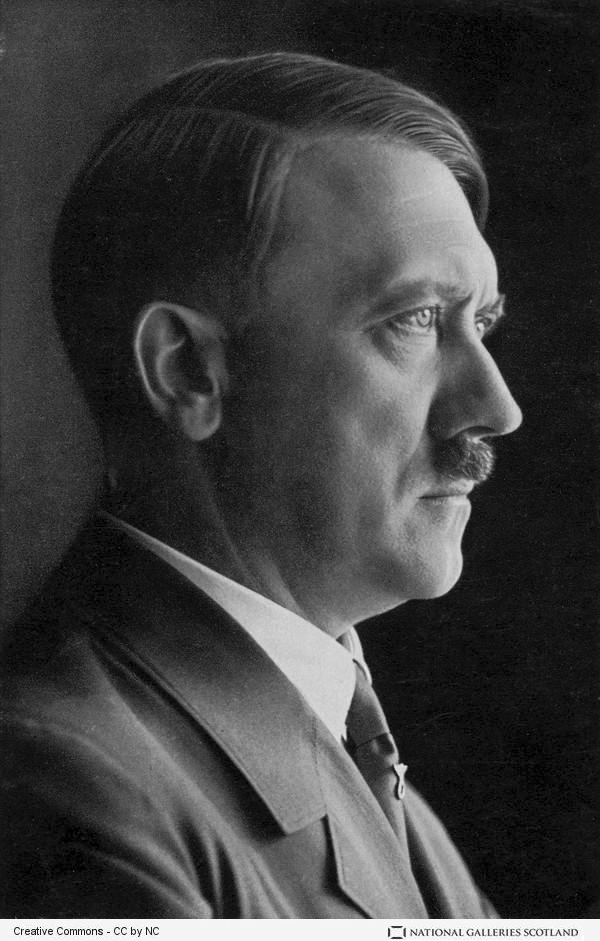 Portrait of Adolf Hitler at his 47th birthday
