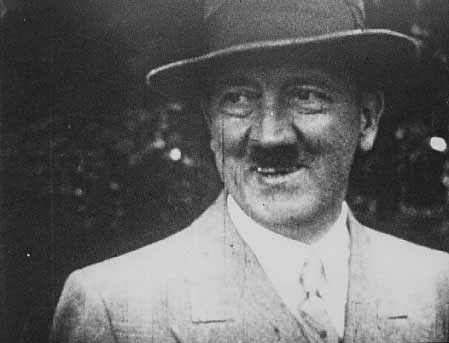 Adolf Hitler at the villa Wahnfried in Bayreuth