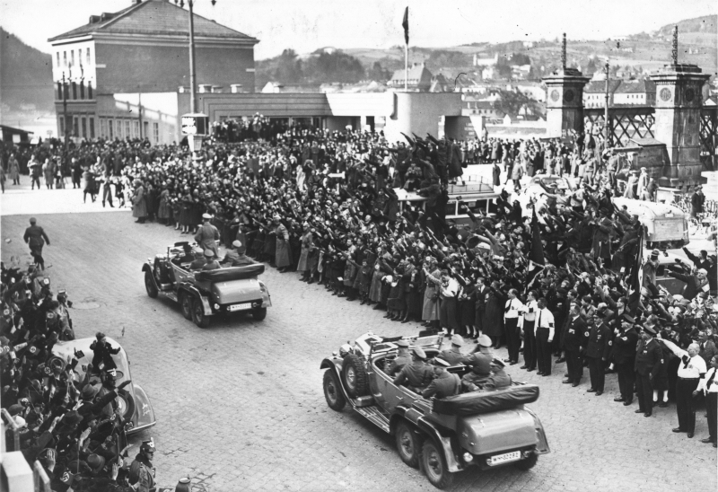 Hitler in Linz