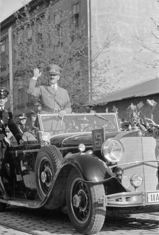 Adolf Hitler in Graz