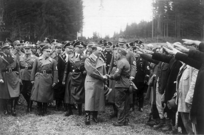 Adolf Hitler am Walserberg