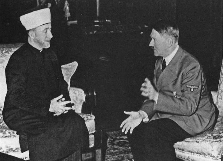Adolf Hitler receives the Grand Mufti of Jerusalem Mohammed Amin al-Husseini